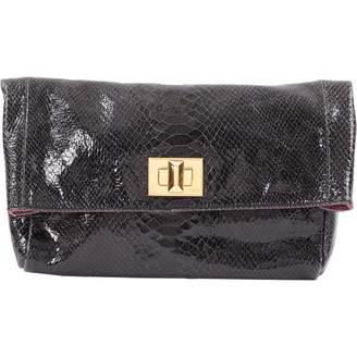 Emilio Pucci Black Patent leather Clutch Bag