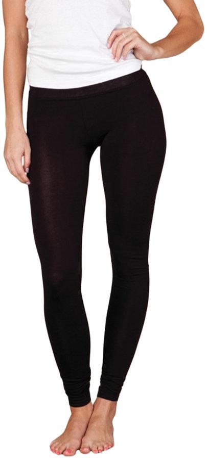 Alternative Apparel Slim-Fit Full Length Leggings