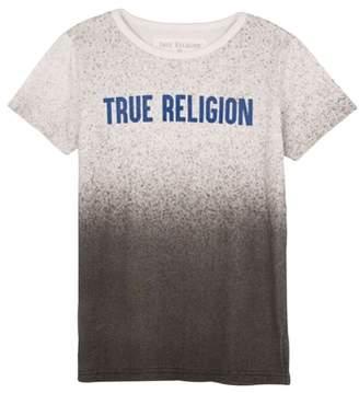 True Religion (トゥルー レリジョン) - True Religion Brand Jeans Speckle Gradient T-Shirt