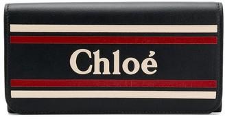 Chloé logo wallet
