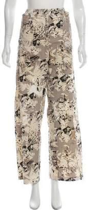 Zero Maria Cornejo Wide-Leg Printed Pants