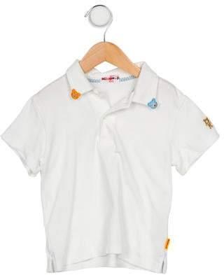 Mikihouse Miki House Boys' Appliqué Polo Shirt