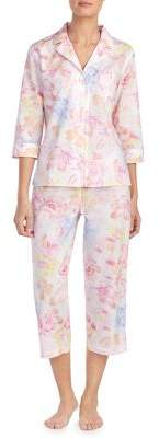 Lauren Ralph Lauren Floral Cotton Pajamas