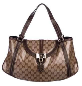 Gucci GG Crystal Duchessa Flap Bag Tan GG Crystal Duchessa Flap Bag