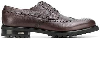 Baldinini perforated lace-up brogues