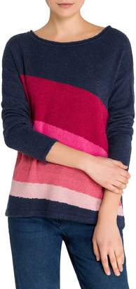 Olsen Easy Style Wave Colourblock Pullover
