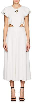 Derek Lam 10 Crosby Women's Crepe Midi-Dress - White