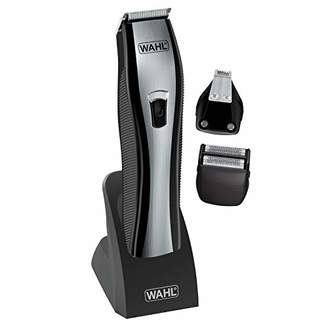 Wahl Lithium Ion Integrated All-in-One Trimmer 9867-300 Rechargeable Electric Shaver For Men's Grooming with 3 Interchangeable Heads