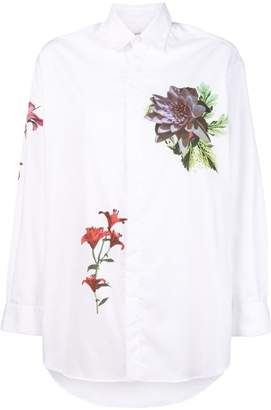 Each X Other floral printed loose shirt
