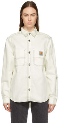 Carhartt Work In Progress White Chalk Shirt