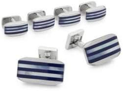 Stripe Cufflink Set