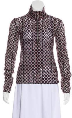 Chanel 2017 Wool Guipure Blouse