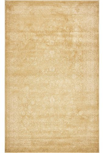 World Menagerie Aberdeen Imperial Gold Area Rug Rug