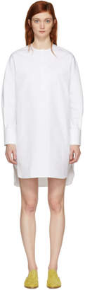 Harmony White Riva Shirt Dress