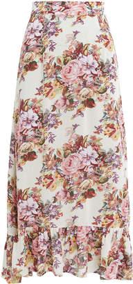 AUGUSTE Bijoux Island Midi Skirt