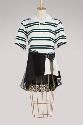 Koché Striped polo shirt