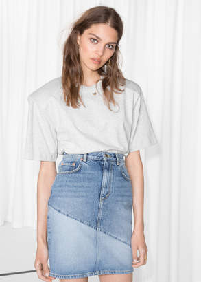 And other stories Denim Pencil Skirt