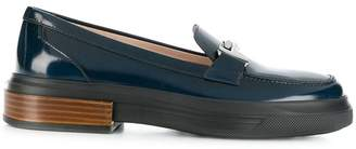 Tod's flatform Double T loafers