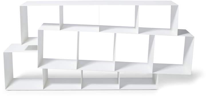 Skitsch - Squilibri Bücherregal, Weiß