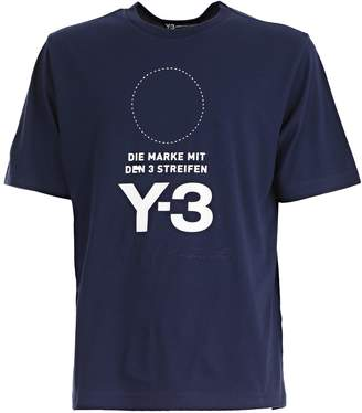 Y-3 Yohji Yamamoto Logo T-shirt