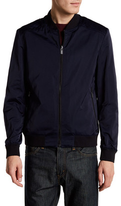 HUGO BOSS Baxent Reversible Bomber Jacket $495 thestylecure.com