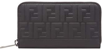Fendi logo embossed wallet
