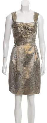 Diane von Furstenberg Sleeveless Animal Print Dress