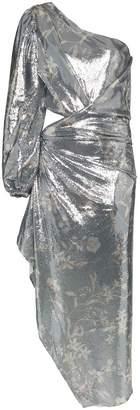 Johanna Ortiz Glassy Orchid One-shoulder Dress