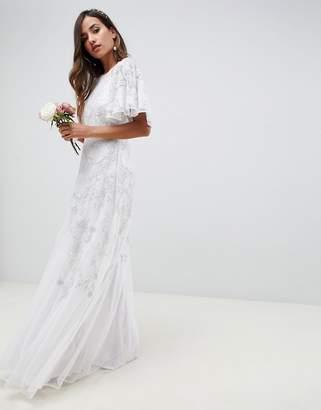 Asos Edition EDITION floral applique wedding dress