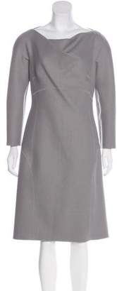 Alberta Ferretti Wool Shift Dress w/ Tags