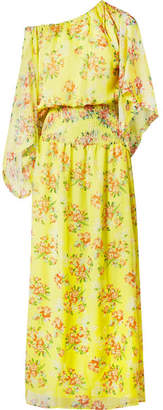 Eywasouls Malibu Evelyn Floral-print Chiffon Maxi Dress