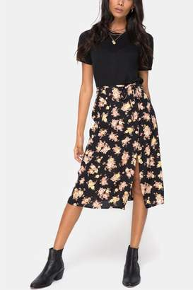 Motel Antique Rose Skirt