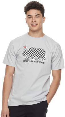 Vans Men's Checkered Bear Tee