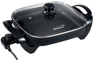 Brentwood 12 in. Electric Skillet with Glass Lid