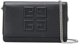 Givenchy foldover logo shoulder bag