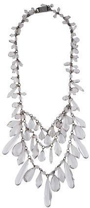 pradaPrada Tiered Multi Strand Necklace
