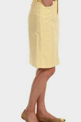 NYDJ Yellow Skirt