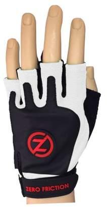 Zero Friction Men's Strap On Fitness Gloves, Pair, White