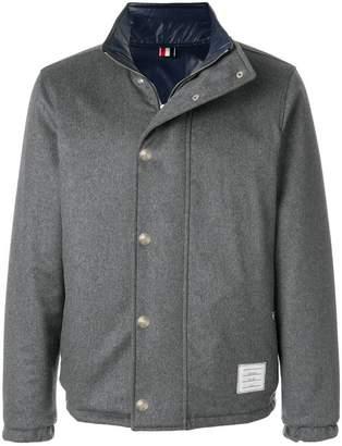 Thom Browne 4-Bar Reversible Cashmere Jacket