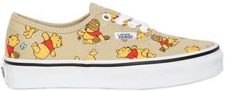 Vans Winnie The Pooh Cotton Canvas Sneakers