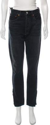 RE/DONE High-Rise Skinny Jeans w/ Tags
