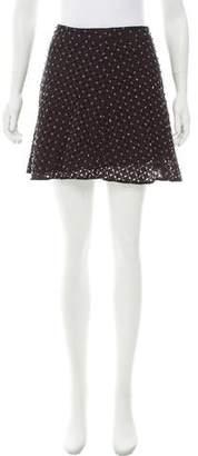 MICHAEL Michael Kors Embellished Mini Skirt w/ Tags