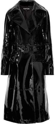 Tom Ford Patent-Leather Trench Coat