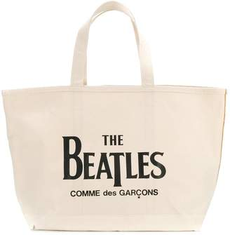Comme des Garcons The Beatles X Beatles tote bag