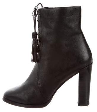 Michael Kors Leather Ankle Boots