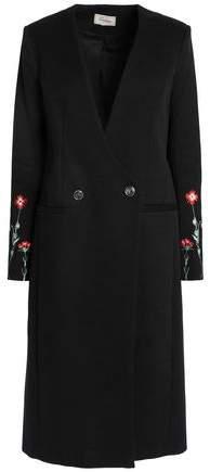 Double-Breasted Cotton-Gabardine Coat