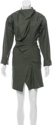 Isabel Marant Long Sleeve Wrap Dress