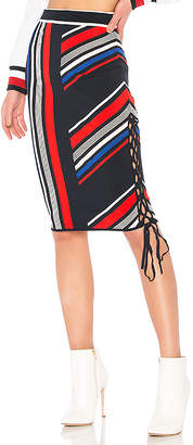 Tommy Hilfiger TOMMY X GIGI Gigi Hadid Intarsia Skirt