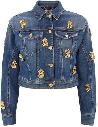 Moschino Dollar Denim Jacket
