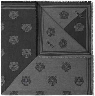 Kenzo tiger print scarf